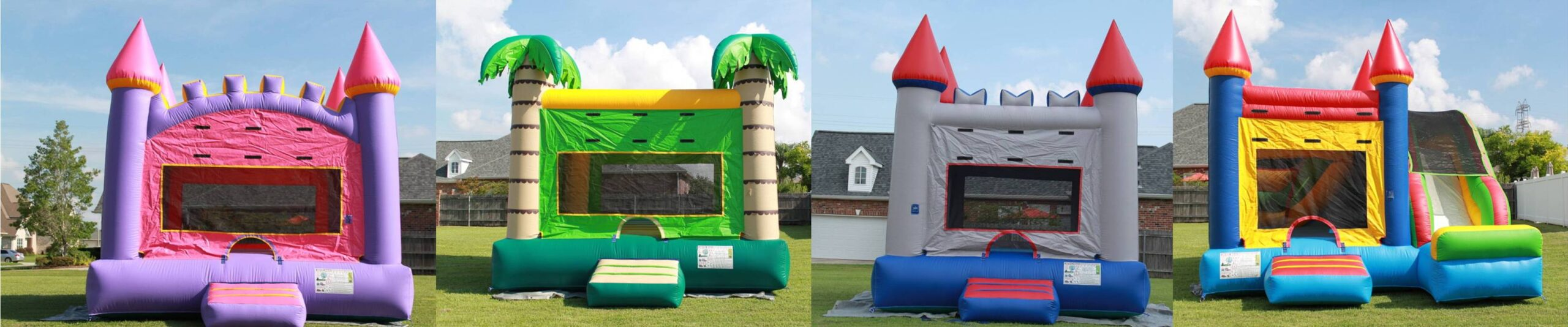 Inflatable bounce house rentals in New Orleans