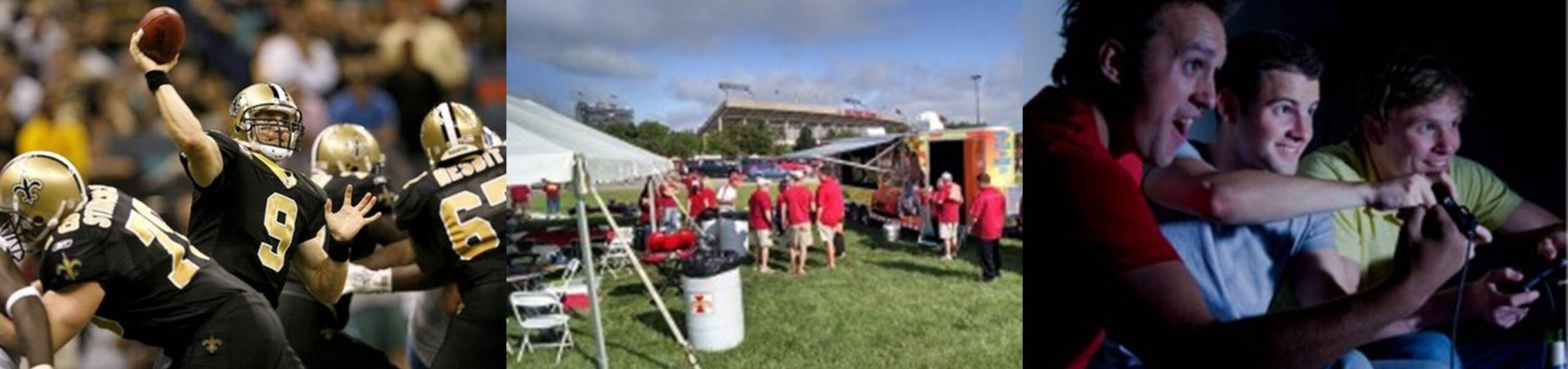 Tailgate party sports entertainment in New Orleans